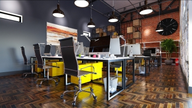 projekt biura katowice
